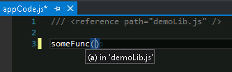 Visual Studio 2012, missing JavaScript Intellisense with Resharper 7 standard settings